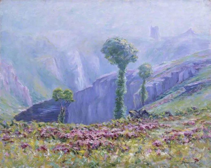 英国印象派画家Wynford Dewhurst插图21
