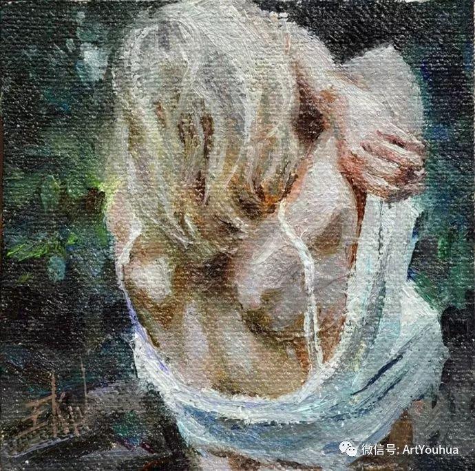 人物油画欣赏 美国Eric Wallis作品二插图37