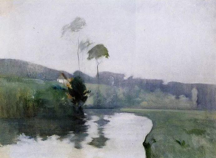 美国印象派风景画家John Henry Twachtman插图15