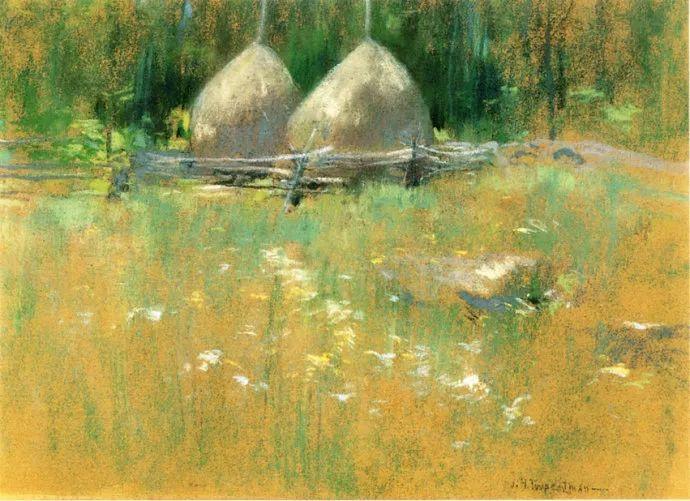 美国印象派风景画家John Henry Twachtman插图19