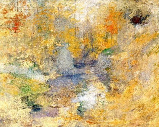 美国印象派风景画家John Henry Twachtman插图25
