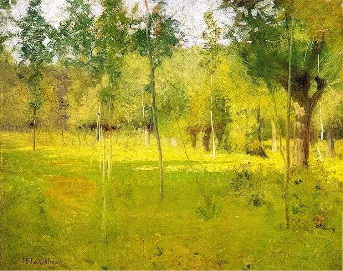 美国印象派风景画家John Henry Twachtman插图43
