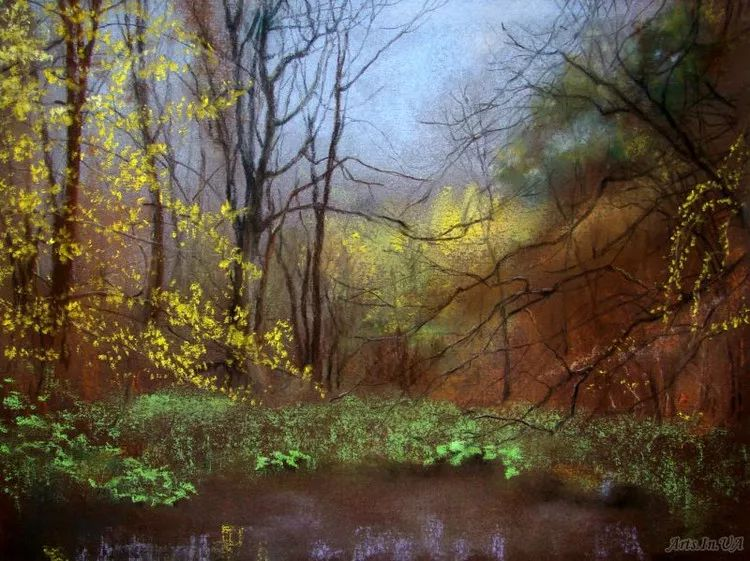 风景油画欣赏 俄罗斯女画家Elena Yushina作品插图5