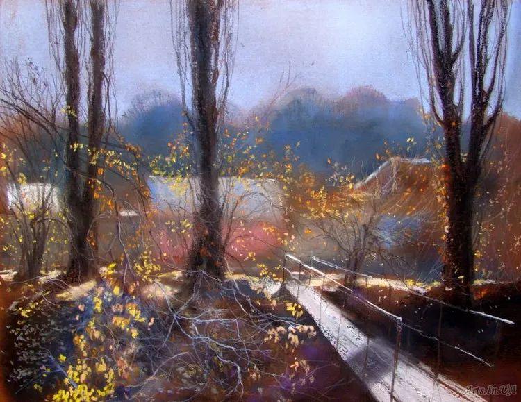 风景油画欣赏 俄罗斯女画家Elena Yushina作品插图7