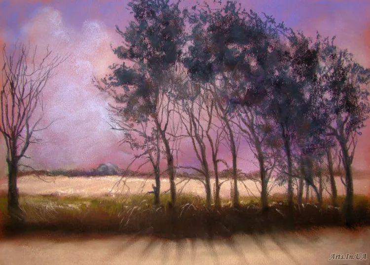风景油画欣赏 俄罗斯女画家Elena Yushina作品插图9