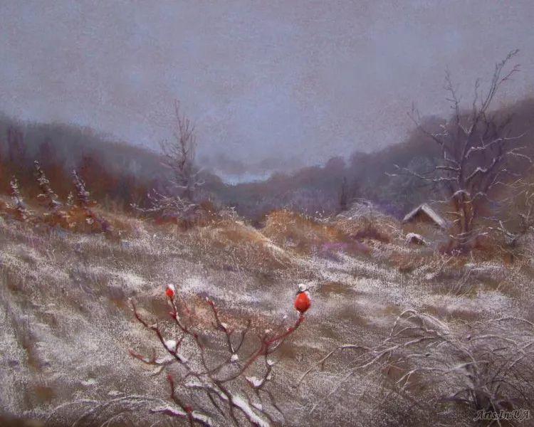 风景油画欣赏 俄罗斯女画家Elena Yushina作品插图17