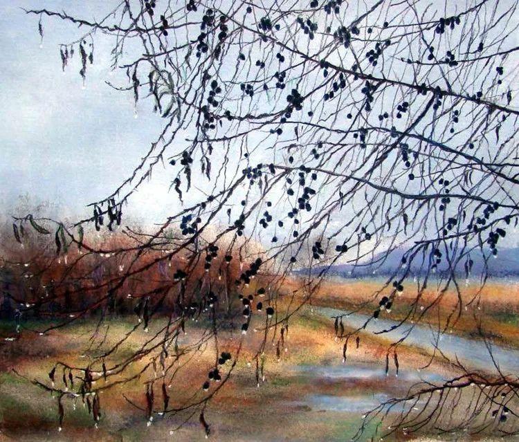 风景油画欣赏 俄罗斯女画家Elena Yushina作品插图19
