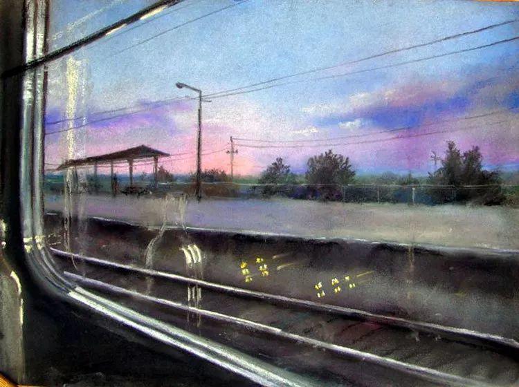 风景油画欣赏 俄罗斯女画家Elena Yushina作品插图21