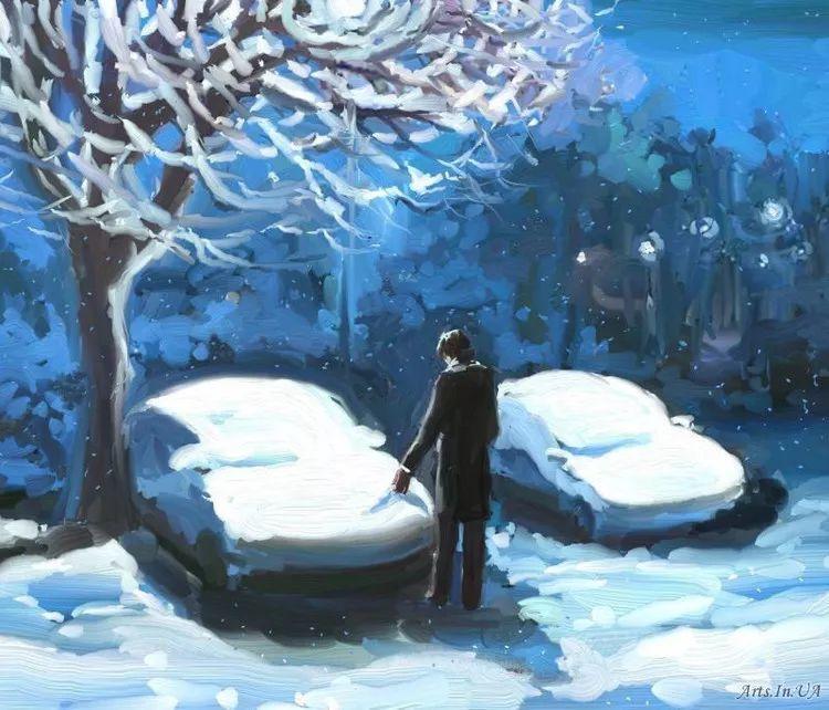 风景油画欣赏 俄罗斯女画家Elena Yushina作品插图25