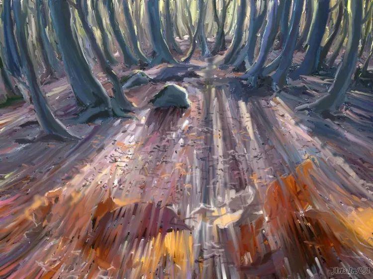 风景油画欣赏 俄罗斯女画家Elena Yushina作品插图29