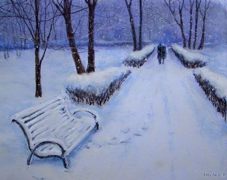风景油画欣赏 俄罗斯女画家Elena Yushina作品插图31