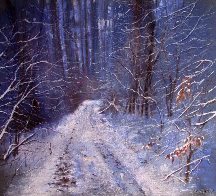 风景油画欣赏 俄罗斯女画家Elena Yushina作品插图37