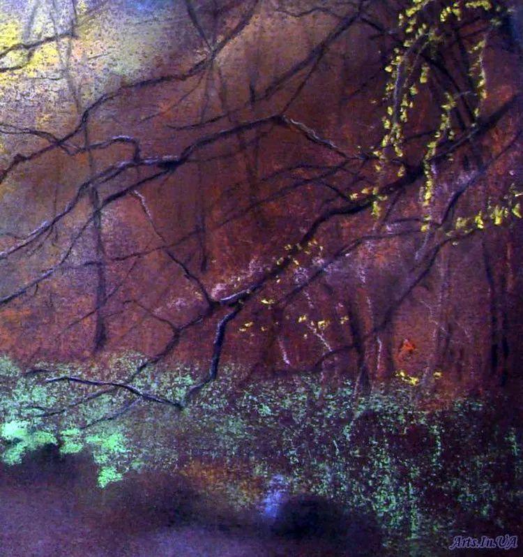 风景油画欣赏 俄罗斯女画家Elena Yushina作品插图39