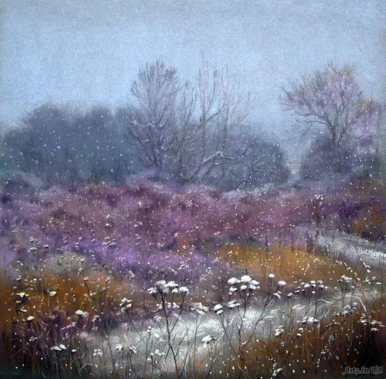 风景油画欣赏 俄罗斯女画家Elena Yushina作品插图41