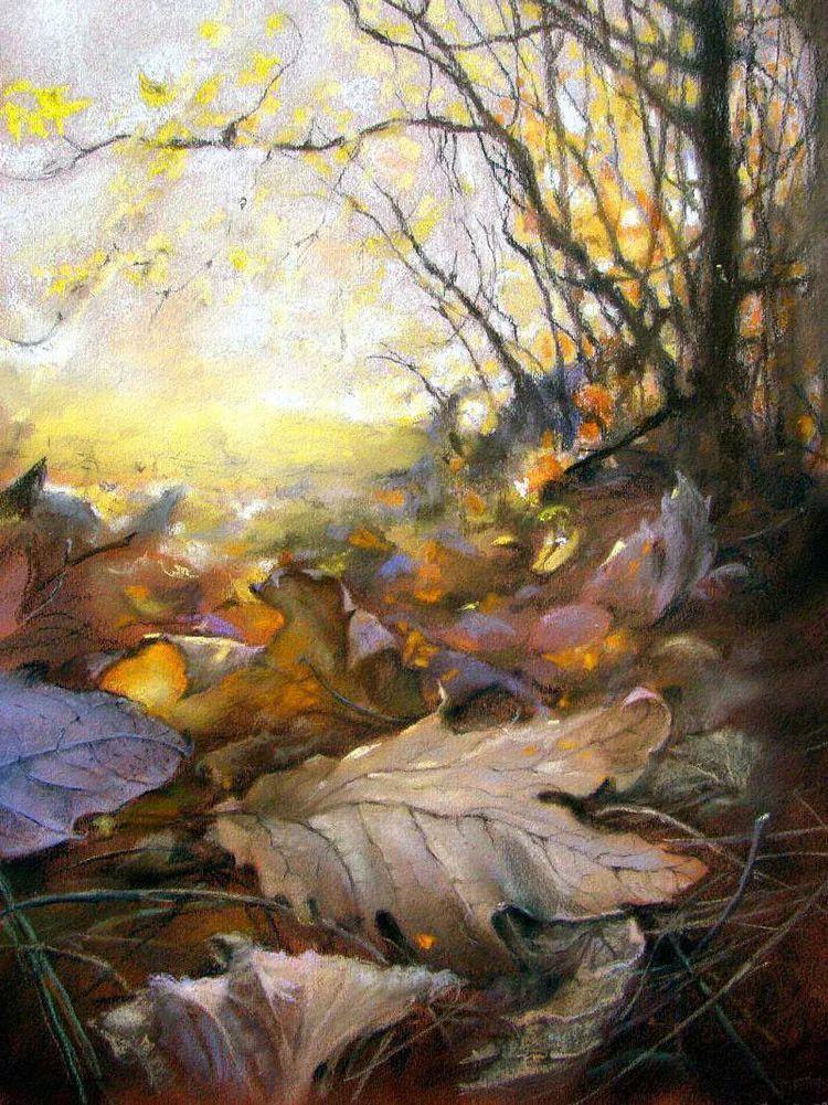 风景油画欣赏 俄罗斯女画家Elena Yushina作品插图43