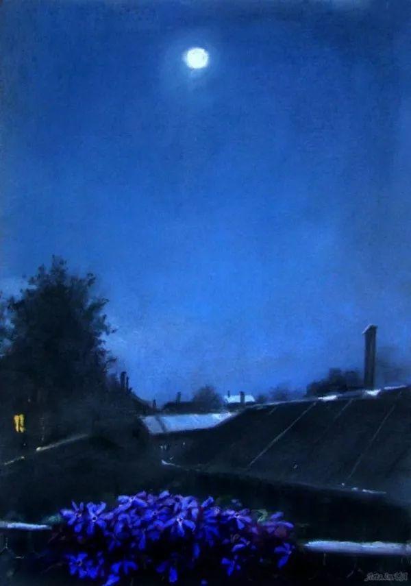 风景油画欣赏 俄罗斯女画家Elena Yushina作品插图45