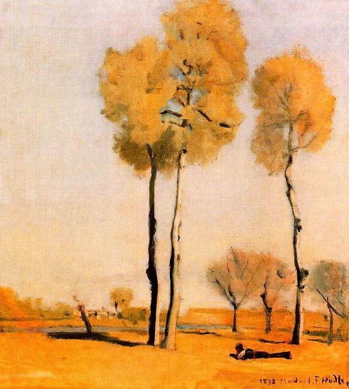 瑞士象征主义画家Ferdinand Hodler (Swiss, 1853–1918)插图9