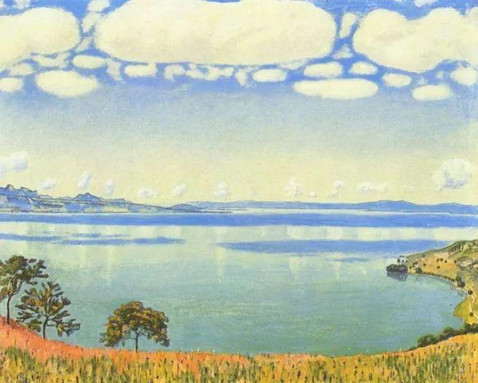 瑞士象征主义画家Ferdinand Hodler (Swiss, 1853–1918)插图13