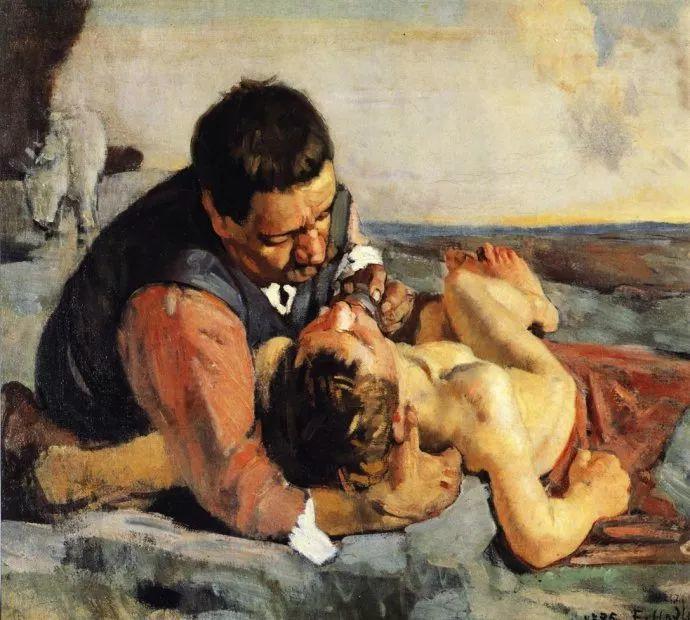 瑞士象征主义画家Ferdinand Hodler (Swiss, 1853–1918)插图19