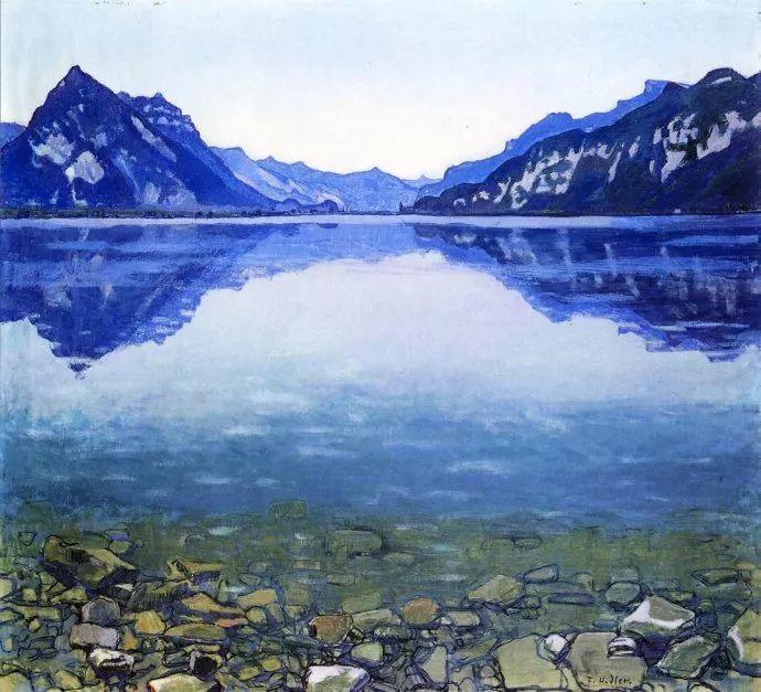 瑞士象征主义画家Ferdinand Hodler (Swiss, 1853–1918)插图21
