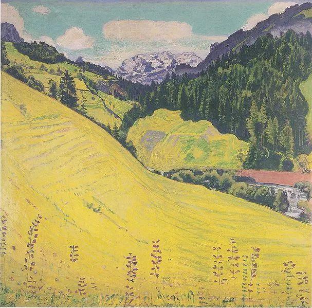 瑞士象征主义画家Ferdinand Hodler (Swiss, 1853–1918)插图25