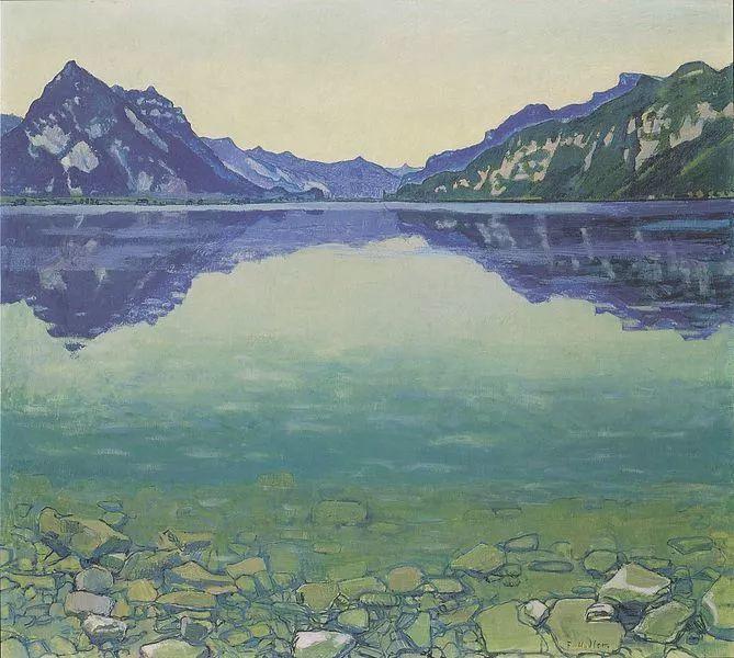 瑞士象征主义画家Ferdinand Hodler (Swiss, 1853–1918)插图27