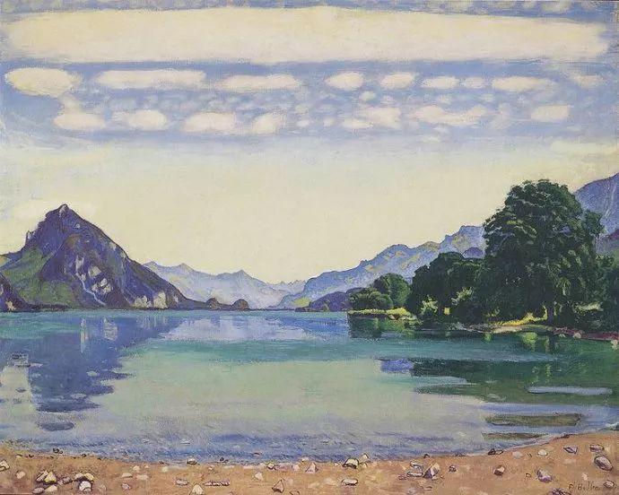 瑞士象征主义画家Ferdinand Hodler (Swiss, 1853–1918)插图33