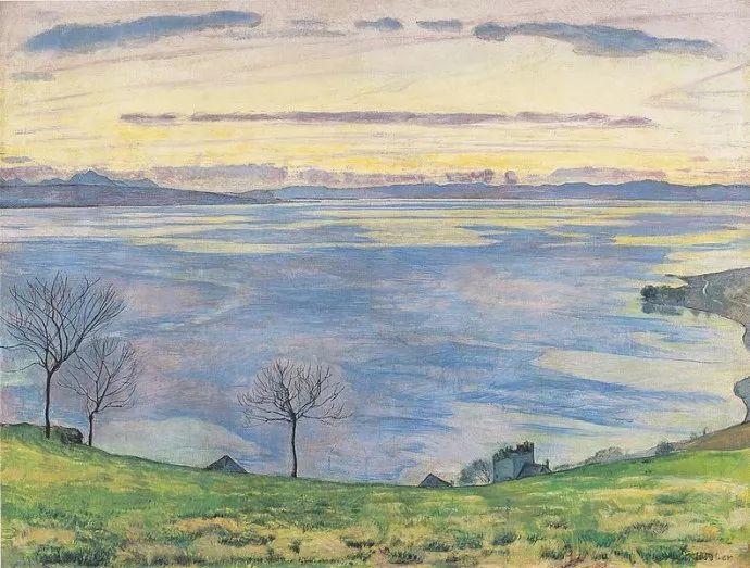 瑞士象征主义画家Ferdinand Hodler (Swiss, 1853–1918)插图35