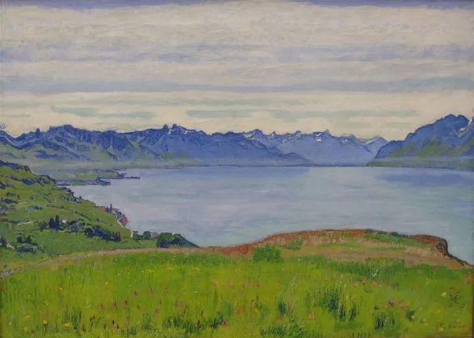 瑞士象征主义画家Ferdinand Hodler (Swiss, 1853–1918)插图37