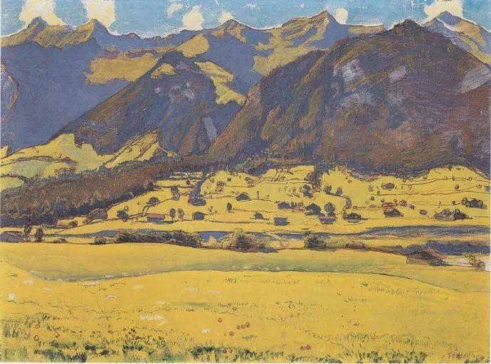 瑞士象征主义画家Ferdinand Hodler (Swiss, 1853–1918)插图39