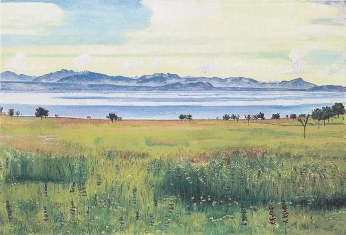 瑞士象征主义画家Ferdinand Hodler (Swiss, 1853–1918)插图41