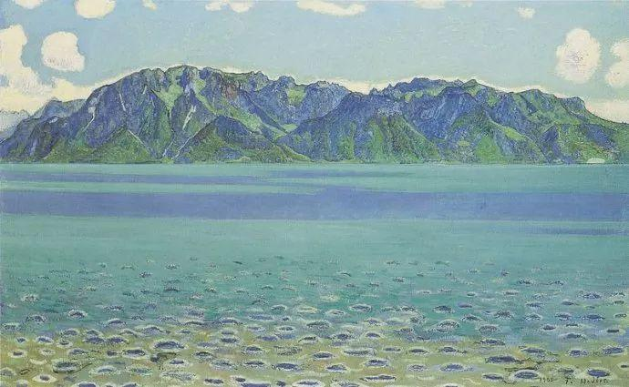 瑞士象征主义画家Ferdinand Hodler (Swiss, 1853–1918)插图43