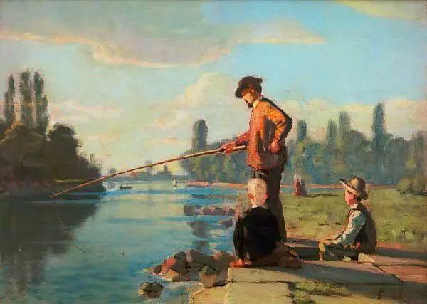 瑞士象征主义画家Ferdinand Hodler (Swiss, 1853–1918)插图49