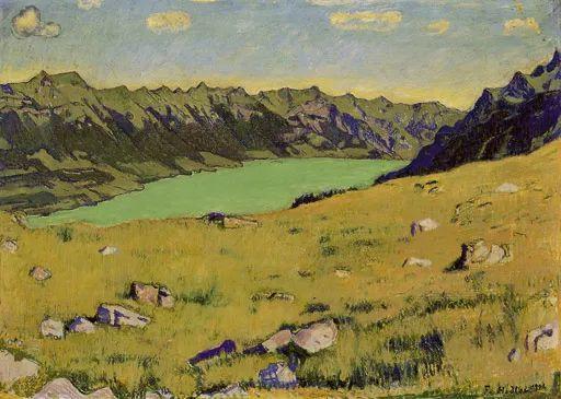 瑞士象征主义画家Ferdinand Hodler (Swiss, 1853–1918)插图51