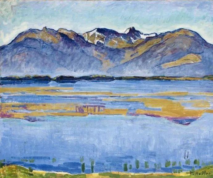 瑞士象征主义画家Ferdinand Hodler (Swiss, 1853–1918)插图53
