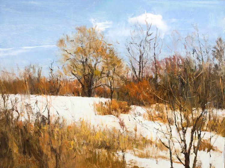 雪景油画欣赏 美国Peter Fiore作品插图15