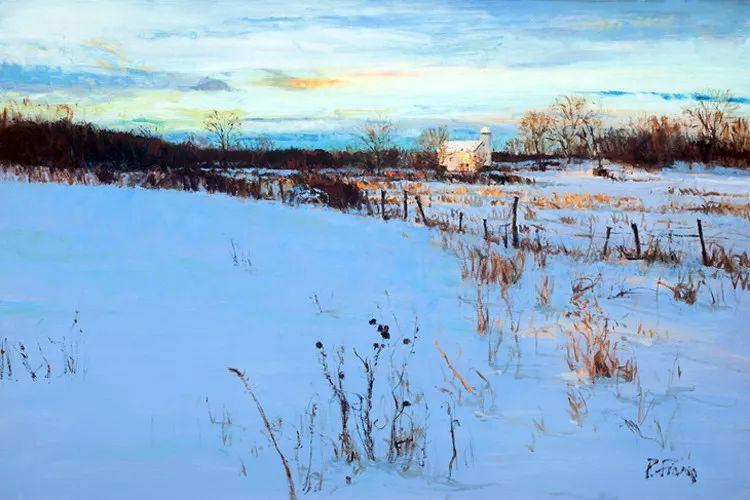 雪景油画欣赏 美国Peter Fiore作品插图19