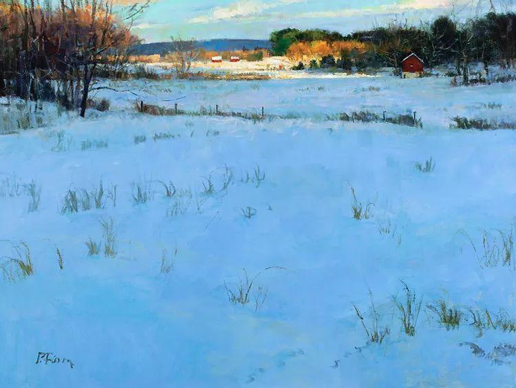 雪景油画欣赏 美国Peter Fiore作品插图31