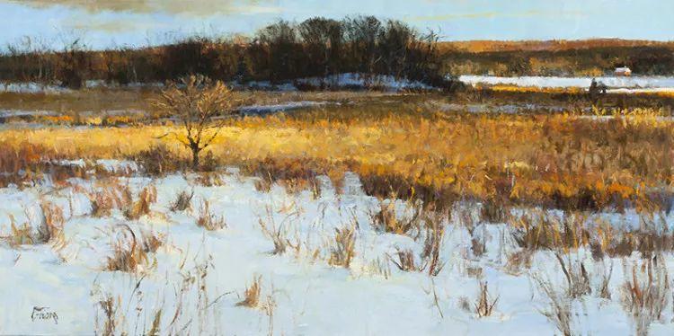 雪景油画欣赏 美国Peter Fiore作品插图33