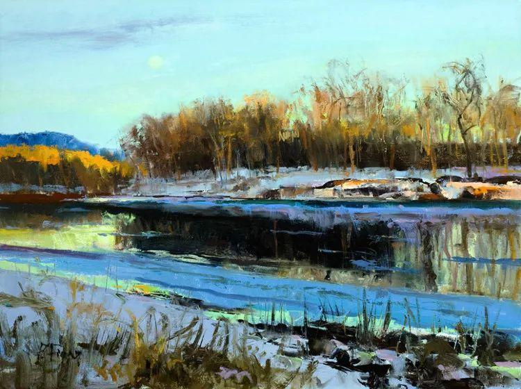 雪景油画欣赏 美国Peter Fiore作品插图41