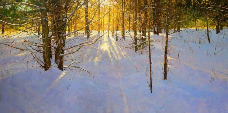雪景油画欣赏 美国Peter Fiore作品插图43