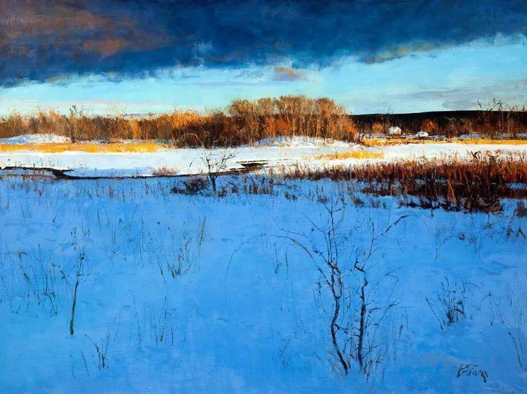 雪景油画欣赏 美国Peter Fiore作品插图45