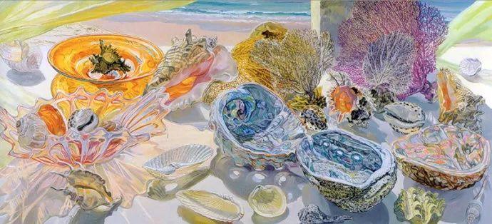 美国画家Janet Fish的靓丽色彩插图3