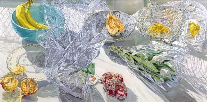 美国画家Janet Fish的靓丽色彩插图5