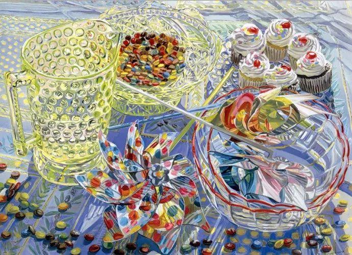 美国画家Janet Fish的靓丽色彩插图7