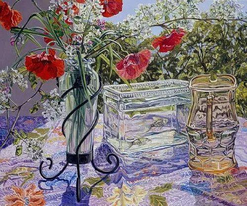 美国画家Janet Fish的靓丽色彩插图9