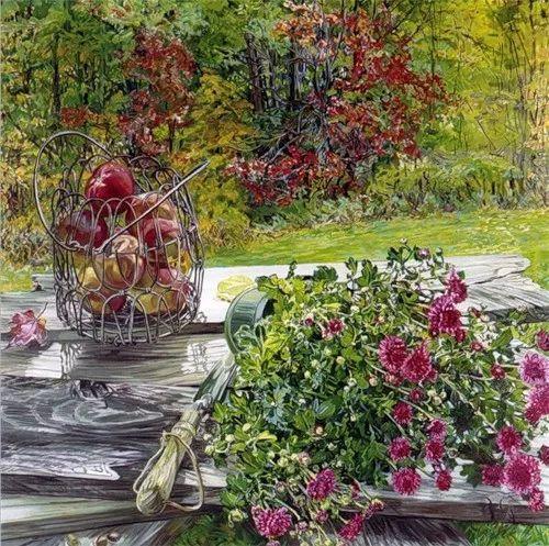 美国画家Janet Fish的靓丽色彩插图11