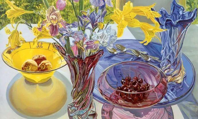 美国画家Janet Fish的靓丽色彩插图13