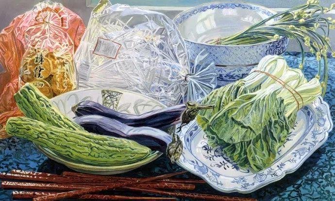 美国画家Janet Fish的靓丽色彩插图15