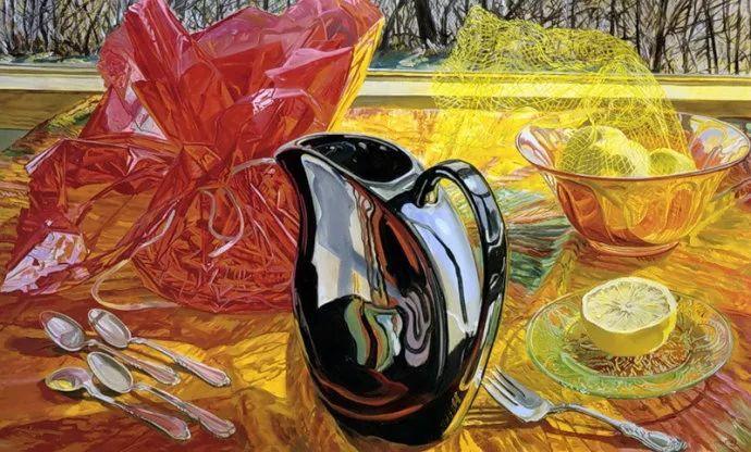 美国画家Janet Fish的靓丽色彩插图19